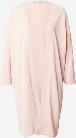 ONLY Cardigan 'Diana' in pastellpink: Frontalansicht