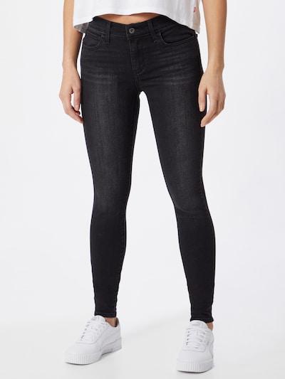 LEVI'S Jeans '710™ SUPER SKINNY' in schwarz, Modelansicht