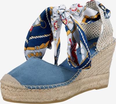 Vidorreta Sandale in navy / rauchblau / gelb / rot / weiß, Produktansicht