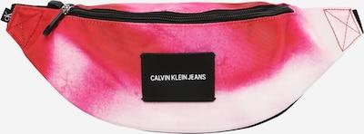 rózsaszín / fekete / fehér Calvin Klein Jeans Övtáska 'MARBLE', Termék nézet