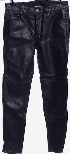 H&M Röhrenhose in S in schwarz: Frontalansicht