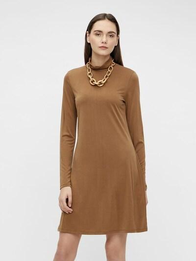 OBJECT Kleid 'Annie' in karamell, Modelansicht