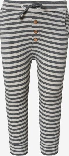STACCATO Jogginghose in grau / weiß, Produktansicht
