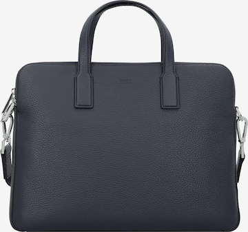 BOSS Casual Document Bag 'Crosstown' in Blue