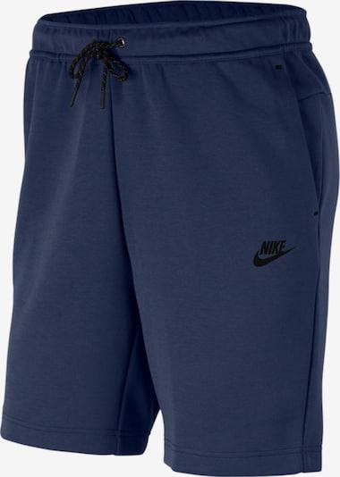 Nike Sportswear Панталон в морскосиньо / черно, Преглед на продукта