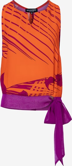 Ana Alcazar Top ' Zados ' in orange, Produktansicht