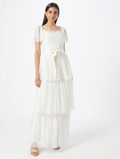 Maya Deluxe Brautkleid in creme, Modelansicht