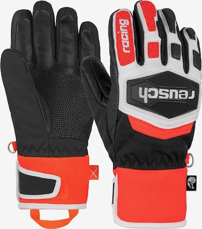 REUSCH Fingerhandschuhe 'Worldcup Warrior R-TEX® XT Junior' in grau / rot / schwarz, Produktansicht