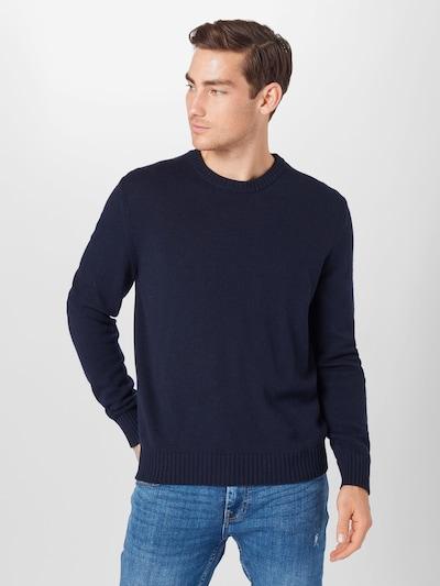 Megztinis iš UNITED COLORS OF BENETTON , spalva - tamsiai mėlyna: Vaizdas iš priekio