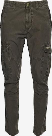 Superdry Pantalon cargo en vert: Vue de face