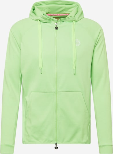 BIDI BADU Veste de survêtement en vert clair / blanc, Vue avec produit