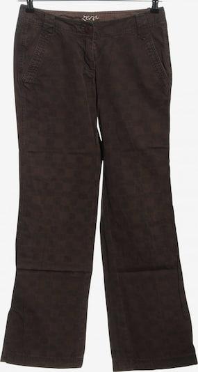BASE Stoffhose in S in braun / schwarz, Produktansicht