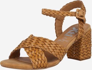 Xti Sandale in Braun