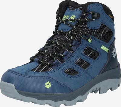 Auliniai batai iš JACK WOLFSKIN , spalva - mėlyna / neoninė žalia / juoda, Prekių apžvalga