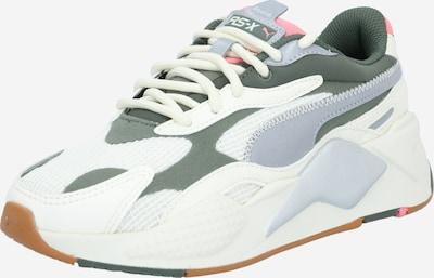 PUMA Sneaker low 'RS-X³ Grids' in silbergrau / grün / weiß, Produktansicht