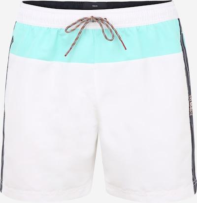 Tommy Hilfiger Underwear Plavecké šortky - marine modrá / tyrkysová / bílá, Produkt