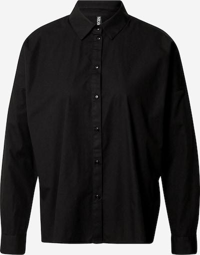 PIECES Blouse 'Remey' in de kleur Zwart, Productweergave