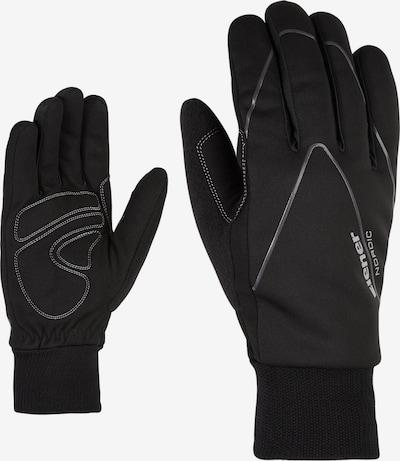 ZIENER Athletic Gloves 'UNICO' in Black, Item view