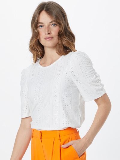 Bluză 'RITTA' OBJECT pe alb, Vizualizare model