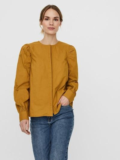 Vero Moda Aware Bluse 'Nikki' in senf, Modelansicht