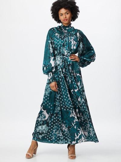 Ted Baker Jurk 'Anafia' in de kleur Petrol / Smaragd / Wit, Modelweergave