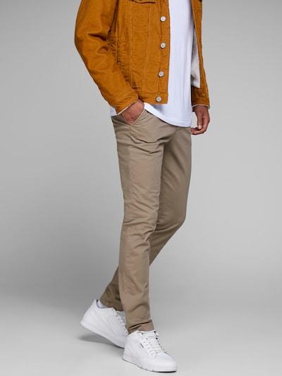 JACK & JONES Pantalon chino 'MARCO BOWIE SA BEIGE NOOS' en beige clair, Vue avec modèle
