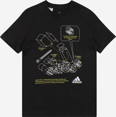 ADIDAS PERFORMANCE Sportshirt in gelb / schwarz / weiß, Produktansicht