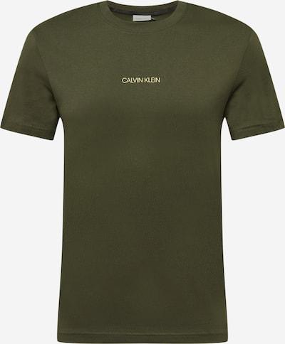 Calvin Klein Tričko - žltá / olivová / čierna, Produkt