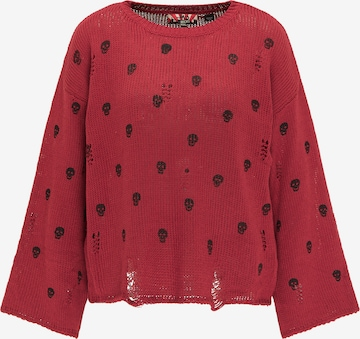 myMo ROCKS Sweater in Red