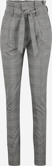 Vero Moda Tall Kalhoty se sklady v pase 'EVA' - šedá / bílá, Produkt