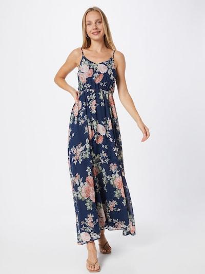 ABOUT YOU Kleid 'Mala' in blau / mischfarben, Modelansicht
