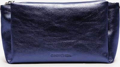 Gretchen Clutch 'Cassia' in dunkelblau, Produktansicht