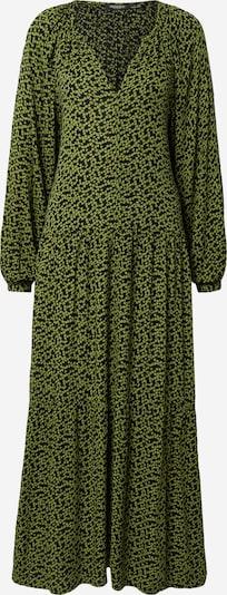 SOAKED IN LUXURY Kleid 'Zaya' in grün / dunkelgrün / schwarz, Produktansicht