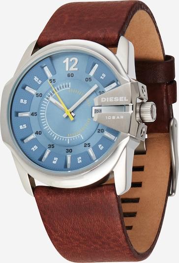 DIESEL Analoginen kello 'MASTER CHIEF' värissä vaaleansininen / ruskea, Tuotenäkymä