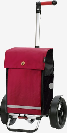 Andersen Shopper Einkaufstrolley 'Martje' in rot / schwarz, Produktansicht