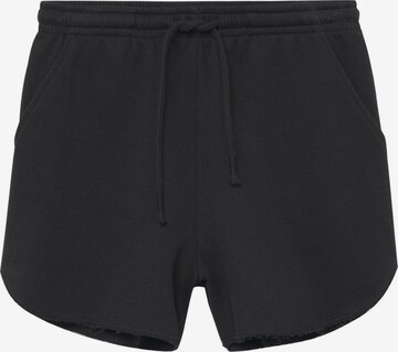 MANGO TEEN Shorts in Schwarz