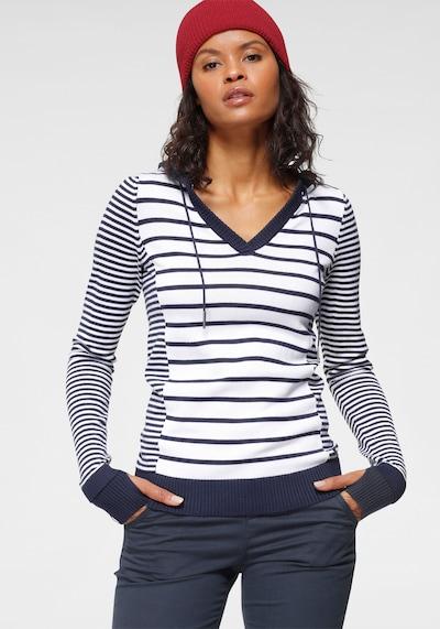 KangaROOS Pullover in marine / weiß, Modelansicht