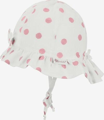 STERNTALER Hut in altrosa / weiß, Produktansicht