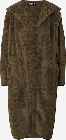 ONLY Χειμερινό παλτό 'CONTACT' σε πράσινο