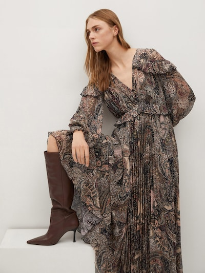 MANGO Kleid 'Magic' in mischfarben, Modelansicht