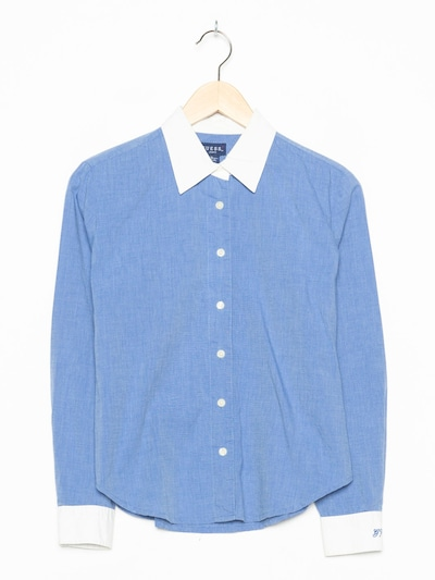 GUESS Hemd in S-M in hellblau, Produktansicht