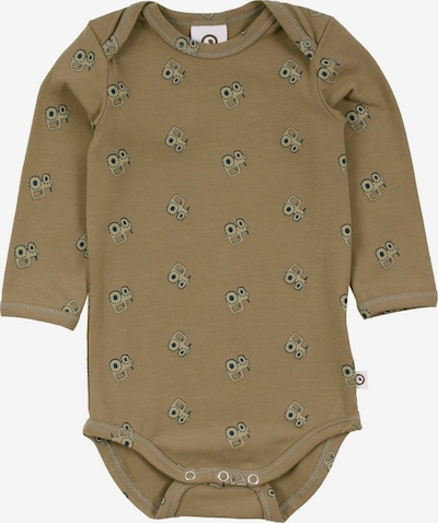 Müsli by GREEN COTTON Romper/bodysuit 'Tractor' in Taupe / Olive, Item view