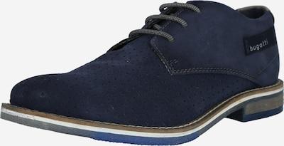 bugatti Chaussure à lacets 'Kamak' en bleu marine, Vue avec produit