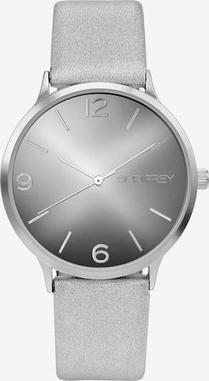 Suri Frey Montre à affichage analogique 'Roxy' en gris / argent, Vue avec produit