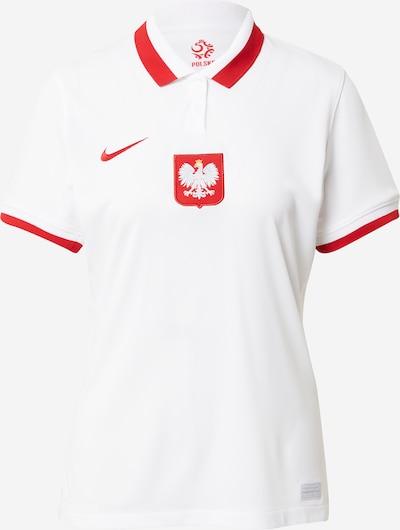 NIKE Dres 'Poland 2020 Stadium Home' | rdeča / bela barva, Prikaz izdelka