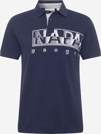 NAPAPIJRI Shirt in marine / weiß, Produktansicht