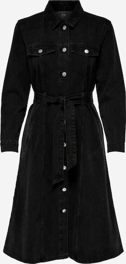 JDY Robe en noir denim, Vue avec produit