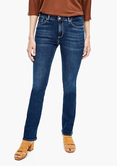s.Oliver Jeans in de kleur Donkerblauw, Modelweergave