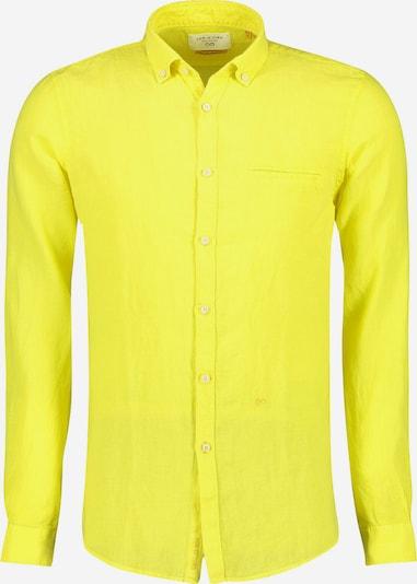NEW IN TOWN Leinenhemd in gelb / zitrone / zitronengelb / hellgelb, Produktansicht
