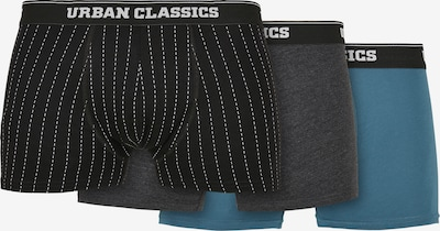 Urban Classics Boxer shorts in Sky blue / Dark grey / Black / White, Item view